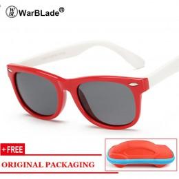 Dzieci chłopcy TR90 niezniszczalne spolaryzowane okulary dzieci dziewczyny bezpieczeństwo Polaroid UV400 lustrzane okulary przec