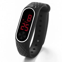Nowe zegarki dla dzieci dzieci LED sportowy cyfrowy zegarek dla chłopców dziewcząt mężczyzna kobiet elektroniczny silikonowy zeg