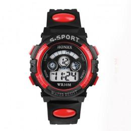 Dzieci dzieci dziewczyna zegarek chłopięcy cyfrowy Multicolor opcjonalnie sport led Wrist Watch дткие reloj nia montre enfant re