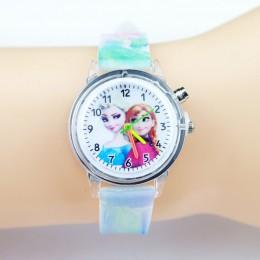 Spiderman dzieci zegarki dla dzieci kolorowe latarka elektroniczna dziewczyna zegarek dla chłopców prezent urodzinowy zegar Wris