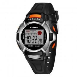 Nowy wodoodporny zegarek dla dzieci chłopcy dziewczęta LED sportowe cyfrowe zegarki plastikowe dzieci Alarm data Casual Watch wy