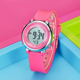 Zegarki dla dzieci dzieci cyfrowy zegarek LED moda Sport śliczne chłopcy dziewczęta zegarek na rękę wodoodporny zegarek na preze