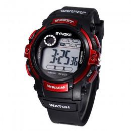 2019 wodoodporny dzieci chłopiec wielofunkcyjny chłopiec cyfrowy sport led wodoodporny zegarek na rękę dzieci Alarm data elektro