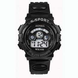 5001 wodoodporna dzieci chłopiec cyfrowy LED Alarm data sport zegarek na rękę reloj dzieci dzieci New Arrival Freeshipping Hot