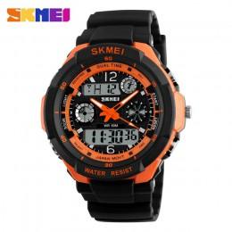 SKMEI zegarki dla dzieci Anti-Shock 5Bar wodoodporny odkryty Sport dzieci zegarki modny zegarek cyfrowy Relogio Masculino 0931 1