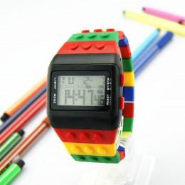 OYOKY LED cyfrowy nadgarstek zegarek dla dzieci chłopcy dziewczęta Unisex kolorowy elektroniczny zegarek sportowy 2020 Dropshipp