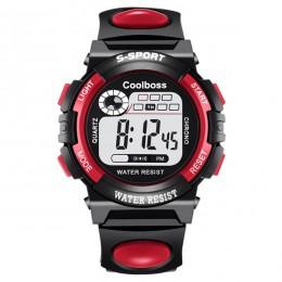 Zegarek dla dzieci Sport zegarki dla dzieci pasek silikonowy wodoodporny zegarek LED cyfrowy dla dzieci Kid Student Girl Boy zeg