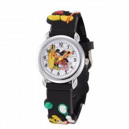 Zegarki dla dzieci 3D Superman bajkowy zegarek Casual chłopcy sport zegarki kwarcowe zegarek dla dzieci zegar relogio montre enf