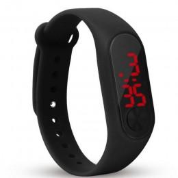 Moda nowy Superior dzieci cyfrowy zegarek sportowy led na co dzień silikonowe zegarki na rękę zegarek na rękę bransoletka Relogi