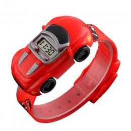 2019 dzieci dzieci chłopiec zegarki samochodzik cyfrowy LED zegarek kwarcowy Sport elektroniczny zegarek kwarcowy zegarek sporto