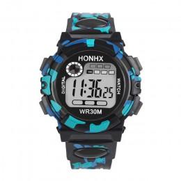 2019 wodoodporny zegarek dla dzieci dzieci dziecko chłopiec dziewczyna wielofunkcyjny wodoodporny sportowy zegarek elektroniczny