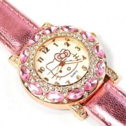 O. T. Sea marka piękny bajkowy zegarek dla dzieci dziewczyny modny kryształ damski zegarek kwarcowy na rękę dla dzieci