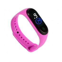 Moda zegarek sportowy dla dzieci dzieci wodoodporny zegarek cyfrowy Led ultralekki pasek silikonowy nastolatek chłopcy dziewczęt