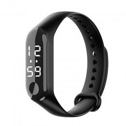 Relogio Led cyfrowy zegarek sportowy uczeń różowy silikonowe zegarki damskie chłopiec marka mężczyźni zegarek dzieci zegar Reloj