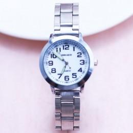 2018 moda mały zegarek dla dzieci dzieci dziewczyny chłopcy zegar dziecko zegarek kwarcowy zegarek ze stali nadgarstek dla dziew