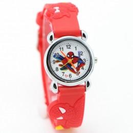 Nowe samochodziki w stylu kreskówki batman superman Avengers Spiderman zegarek dla dzieci dobry prezent dla dzieci zegarek dla d