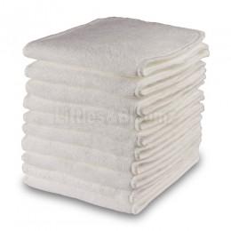 [Littles & Bloomz] 10 sztuk wielokrotnego użytku zmywalne wkładki dopalacze wkładki do kieszeni pieluchy z mikrofibry bambusowy