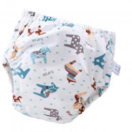 6 warstwa wodoodporna wielokrotnego użytku dla niemowląt bawełniane spodnie treningowe dziecięce spodenki bielizna pieluchy z tk
