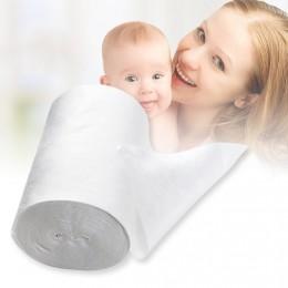Baby Flushable biodegradowalne jednorazowe pieluchy pieluchy bambusowe 100 arkuszy na 1 rolkę 18cm x 30cm