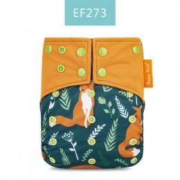 Happy Flute OS pieluchy z tkaniny bambusowy węgiel drzewny kieszeń na pieluchy dla dzieci boże narodzenie pieluszka materiałowa