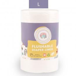 Elinfant 1 rolki jednorazowe bambusa flushable pielucha dla niemowląt nappy liner biodegradowalne bambusa liniowej darmowa wysył
