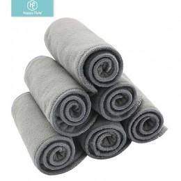 Happy Flute 10 sztuk jakości pieluszki dziecięce bambusowy węgiel drzewny wkładka pieluszka wkładka do pieluszka dla niemowląt p