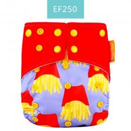 Oryginalne! Happy Flute OS suede cloth pocket pieluszka dla niemowląt z dwiema kieszeniami i podwójnym zatrzaskiem