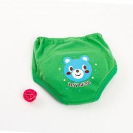 Majtki do nauki korzystania z nocnika pieluszki dziecięce dla malucha chłopiec dziewczyna majtki wielokrotnego użytku zmywalna t