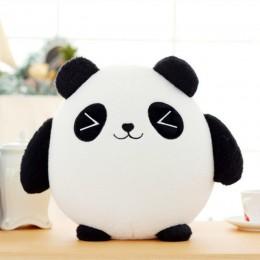 18cm Panda pluszowe zwierzęta lalki kot na szczęście pluszowe zabawki wypchane kot na szczęście samochodu dekoracje na prezenty