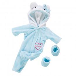 2 sztuk/zestaw garnitur + buty lalki strój dla 17 cali 43cm laleczka bobas śliczne bluzy pajacyki ubranka dla lalki