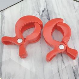 2 sztuk/partia dziecko kolorowe akcesoria do fotelików samochodowych plastikowe wózek zabawka klip wózek wózek Peg do zaślepka z