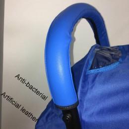 2019 uchwyt do wózka dla dziecka PU Leather wózek spacerowy podłokietnik Case pokrowiec ochronny do wózka babyyoya yoya akcesori