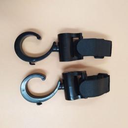 2 sztuk/dziecko wieszak dziecko torba haczyki do wózka wózek obrót 360 stopni akcesoria do fotelików samochodowych wózek organiz