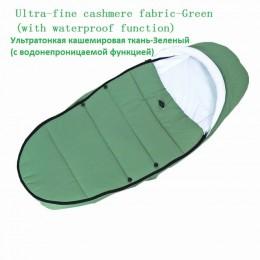 Uniwersalne akcesoria dla wózków dziecięcych skarpety zimowe śpiwór wiatroodporny ciepły śpiwór wózek dla dziecka Footmuff dla B