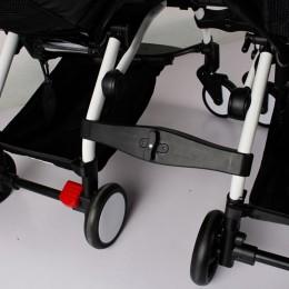 Złączka która przerobi dwa tradycyjne wózki w jeden podwójny spacerowy wózek oryginalne wielofunkcyjne