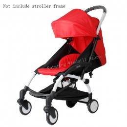 Kaptur i materac do wózka 175 Yoya Baby Throne Oxford tkaniny z powrotem z kieszenie z siatki Yoya akcesoria do wózka dziecinneg