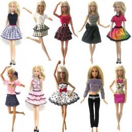 NK 10 sztuk sukienka księżniczki dla lalki szlachetna impreza suknia dla akcesoria dla lalek barbie Fashion Design strój najleps