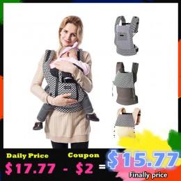 Nosidełko dla dziecka ergonomiczny plecak dziecięcy przewoźnik bawełniany nosidło przodem do świata maluch chusta do noszenia dz