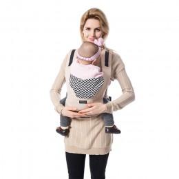 Upuść zakupy prawdziwe Canguru Baby Wraps ergonomiczne nosidełka dziecięce plecaki chusta do noszenia bawełna niemowlę noworodek