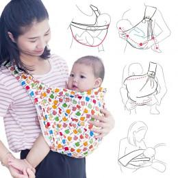 Ergonomiczne zawiesia dla niemowląt nosidełko dla dziecka zawiesia Wrap plecak dziecięcy przewoźnik noworodka karmienie piersią