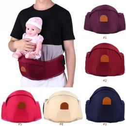 Nosidełko dla dziecka talia stołek Walker regulowany niemowlę maluch nosidło do przenoszenia zwierząt z przodu plecak z paskiem