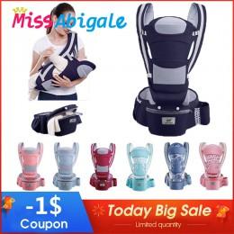 Oddychające ergonomiczne nosidełko dla dzieci plecak przenośne nosidło dla niemowląt kangur Hipseat Heaps chusta do noszenia dzi