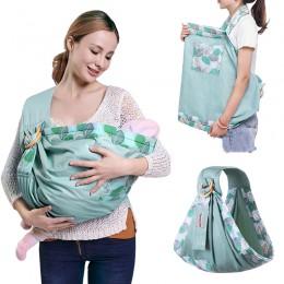 Nosidełko dla dzieci noworodek chusta podwójnego zastosowania niemowlę chusta do karmienia przewoźnik siateczkowa tkanina noside