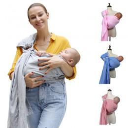 Nowy 80% Line Fabric oddychający nosidło dla niemowląt miękki otulaczek dla noworodków najlepszy prezent na przyjęcie bociankowe