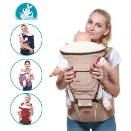 Wielofunkcyjny nosidełko dla dziecka ergonomiczny nosidełko chustowe 9 w 1 noworodek pas do przenoszenia przez 3-36 miesięcy
