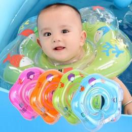 Pływanie akcesoria dla dzieci pierścień uszczelniający rurka bezpieczeństwo niemowlę koło do pływania do kąpieli nadmuchiwana wo