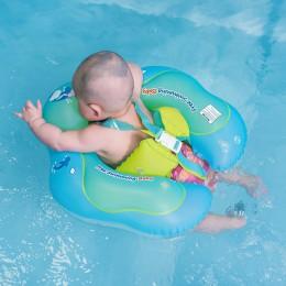 Obręcz do pływania dla dziecka Float nadmuchiwane niemowlę pływające dzieci basen kąpielowy akcesoria koło kąpiel nadmuchiwane p