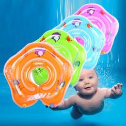 Basen dla dzieci akcesoria dla dzieci dmuchany pierścień dla dzieci szyi nadmuchiwane koła dla noworodków koło kąpielowe bezpiec