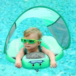 Bezpieczne koło kółko dmuchane do pływania dla dziecka niemowlaka nauka pływania pływaki