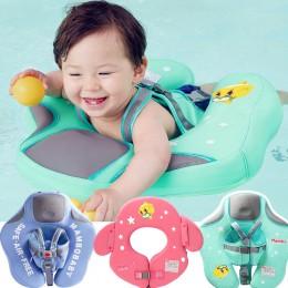 Nadmuchiwane pływaczki dla dzieci chłopca dziewczynki obręcz do pływania zielona niebieska różowa